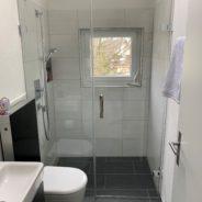 Umbau Dusche/WC
