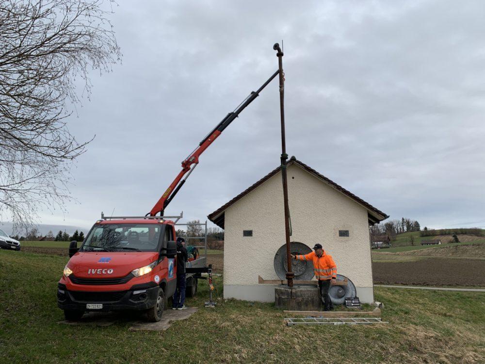 Wasserversorgung Gemeinde Dinhard