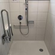 Einbau behindertengerechte Dusche